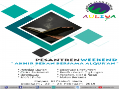 PESANTREN WEEKEND